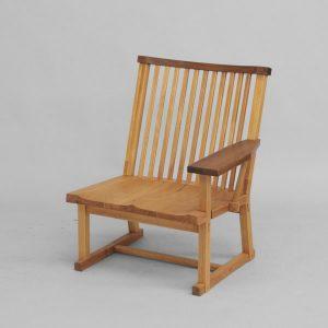 木格子 65 高座片袖椅子 左